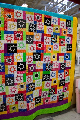 The quilt that will be featured in the magazine.